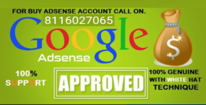 Buy pin verified adsense account online in india