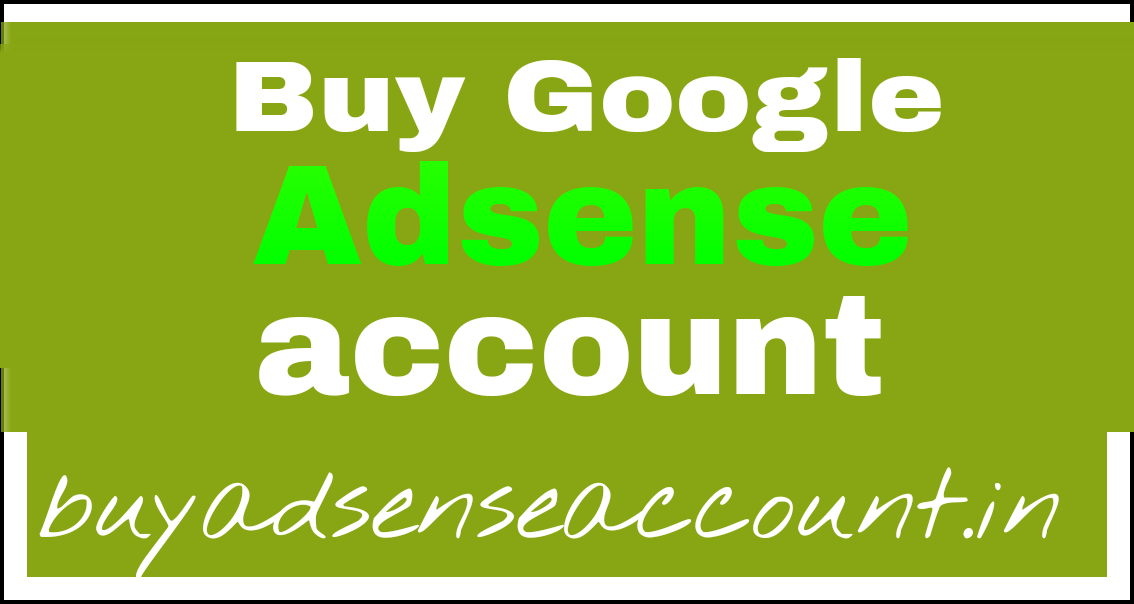 Buy Google Adsense Account