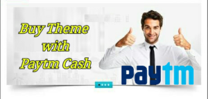 buy wordpress theme with paytm cash