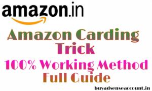 Amazon Carding Trick & Method - 100% Working