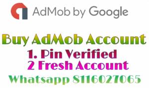 buy admob account