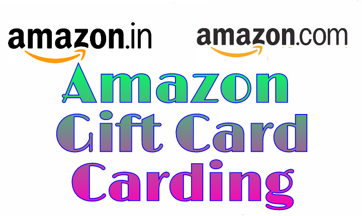 Amazon Gift Card Carding Trick