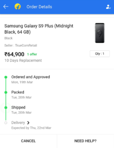 Flipkart Carding Proof