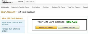 gift card carding proof