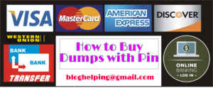 How to buy Dumps with Pin online