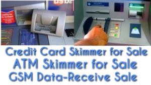 Credit card skimmer for sale